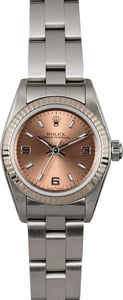 Ladies Rolex Oyster Perpetual 76094 Pink