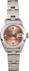 Ladies Rolex Oyster Perpetual Date 79160