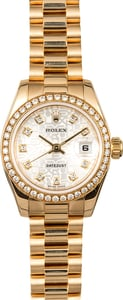 Ladies Rolex President 179138 Diamonds