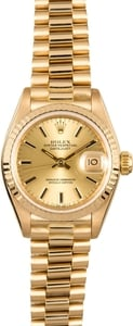 Ladies Datejust Rolex President 69178