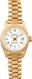 Ladies Rolex President 69278 Bark