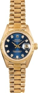 Ladies Rolex President 69278 Diamond