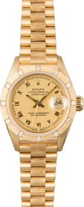 Pre-Owned Rolex Ladies Gold Datejust 69288