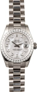 Ladies Rolex Presidential 179179 Diamond Bezel