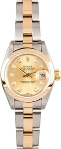 Ladies Used Rolex DateJust