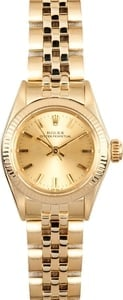 Ladies Gold Oyster Perpetual 6719