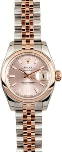 Ladies Rose Gold Datejust 179161 x