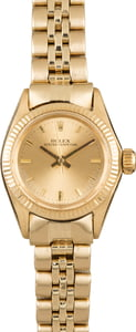 Lady Rolex 18K Oyster Perpetual 6619