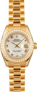 Pre-Owned Rolex Ladies President 179138 Diamonds