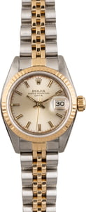 Pre Owned Rolex Datejust 69173 Ladies Watch