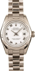 Ladies Rolex Presidential 179179 18k White Gold