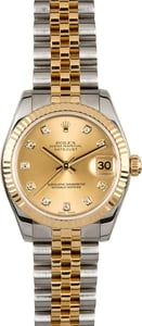 Rolex Datejust 31 Ref. 178273 Diamond