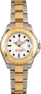 Mid-Size Rolex Yacht-Master 168623 White Dial