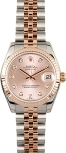 Rolex Mid-size Datejust 178271 Diamond