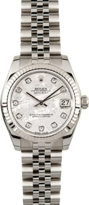 Rolex Datejust Mid-size 178274 Diamond