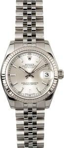 Mid-size Rolex Datejust 178274 Stainless