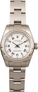 Rolex Lady Oyster Perpetual 176234 White Diamond Dial