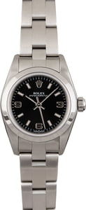 Pre Owned Rolex Oyster Perpetual 76080 Arabic Markers