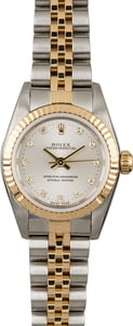 Rolex Oyster Perpetual Diamond Dial 76193