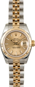 Rolex Datejust 179173 Champagne Index Dial