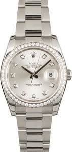 Used Rolex Datejust 116244 Diamonds