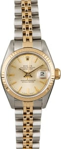 Used Rolex Datejust 69173 Ladies Watch