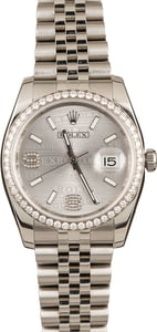 Pre-Owned Rolex Diamond Datejust 116244