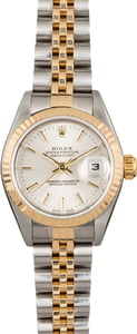 Pre Owned Rolex Ladies Datejust 79173 Silver Index Dial