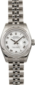 Pre Owned Rolex Ladies DateJust Stainless Steel 179160