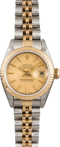 Pre Owned Rolex Lady DateJust Two Tone 69173