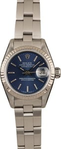 Pre-Owned Rolex Ladies Datejust 79190 Blue Dial