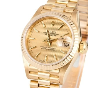 Ladies Rolex Datejust 69178 Tapestry Dial