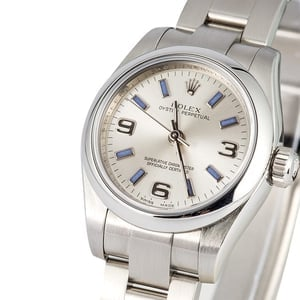 Ladies Rolex Oyster Perpetual 176200 Blue Index