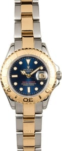 Rolex 29mm Yacht-Master 169623 Blue Dial
