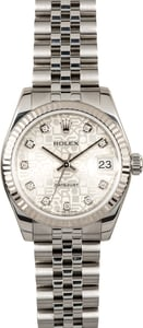 Rolex Datejust 178274 Diamond sold