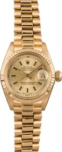 PreOwned Rolex Ladies President 6917