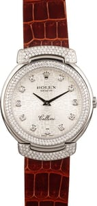 Rolex Cellini White Gold Cellissima 66783/9 Diamonds