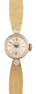 Used Ladies Rolex Diamond Cocktail Watch 3523