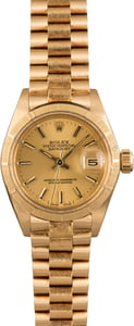 Pre Owned Rolex Lady President 6916