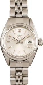 Women's Rolex Date 6916 Stainless Steel