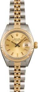 Pre-Owned Rolex Date 6917 Champagne Index Dial