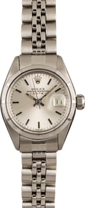 Pre-Owned Rolex Ladies Date 6919 Silver Index Dial