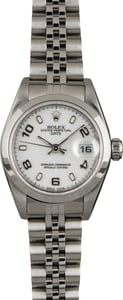 Pre Owned Ladies Rolex Date 79160 White