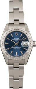 Pre Owned Rolex Date 79240 Blue Dial