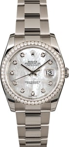 Rolex Datejust 116244 MOP Diamonds