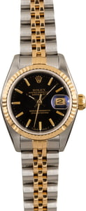 Pre Owned Rolex Datejust 69173 Two-Tone Jubilee