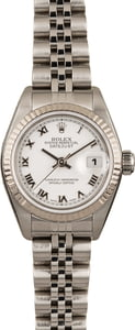 Pre Owned Ladies Rolex Datejust 79174 Roman Dial