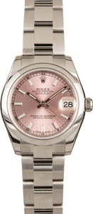 Pre-Owned Rolex Datejust 178240 Pink Dial