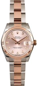 Rolex Datejust 178271 Two Tone Everose Oyster
