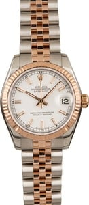 Pre-Owned Rolex Datejust 178271 Everose